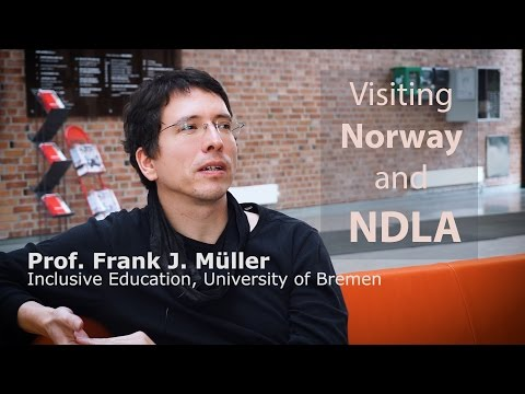 Visiting Norway and NDLA - Frank J. Müller
