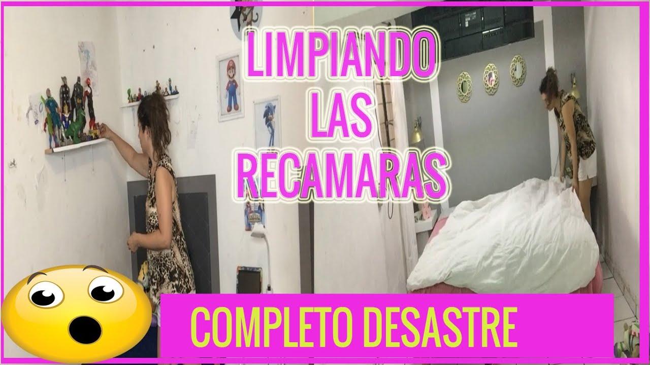 DESASTRE EXTREMO EN LAS RECAMARAS 😱/LIMPIEZA MOTIVADORA