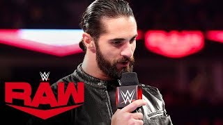 Seth Rollins' apology falls on deaf ears: Raw, Dec. 2, 2019