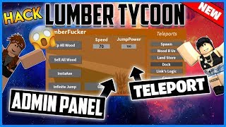 ✔️NEW✔️ ROBLOX HACK - LUMBER TYCOON 2 GUI - GET ADMIN, INSTA AXE AND MORE