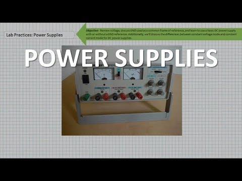Intro to DC Power Supplies