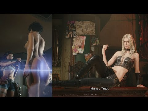 Devil May Cry V All Lady & Trish Scenes