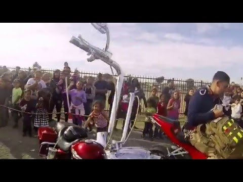Exile Ryder's and ELite Bikerz stunt ride/toy run
