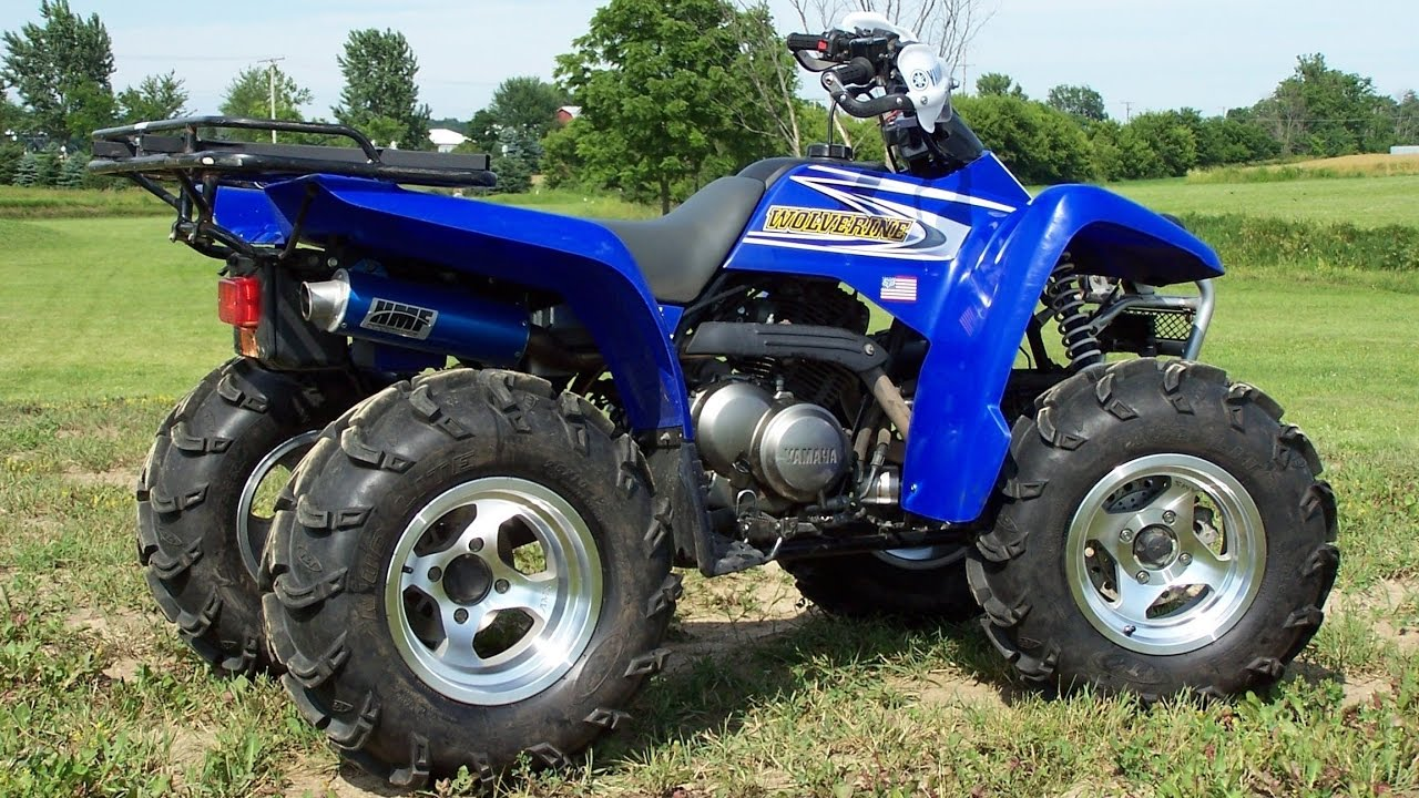 2000 yamaha wolverene 350 4x4 for sale atv four wheeler youtube. Black Bedroom Furniture Sets. Home Design Ideas