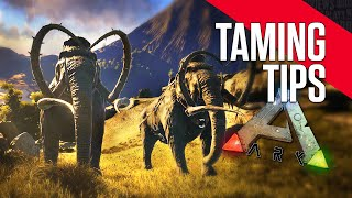 ARK: Survival Evolved - Taming Tips