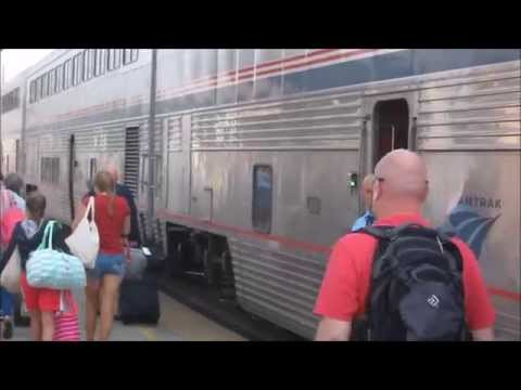 Empire Builder Chicago to Seattle by train