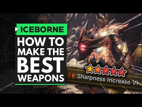 MHW Iceborne | New Safi'jiiva Awakened Weapon System Explained - How to Make the Best Weapons