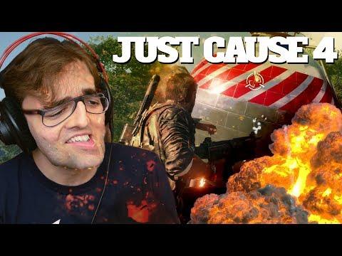 JUST CAUSE 4 - Que Delícia de Explosão! Gameplay Exclusivo!