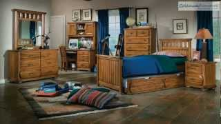 Timberline Panel Bedroom Collection From American Woodcrafters