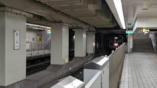 大阪メトロ 千日前線回送 試運転幕で玉川通過