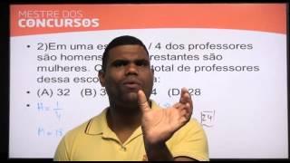 Vídeo Aula grátis - Matemática - Prof. Marcos Antônio  - Mestre dos Concursos