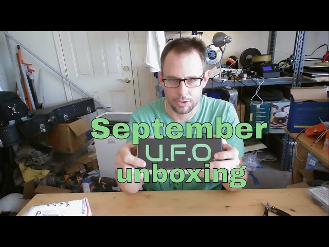 September UFO Box Unboxing and Prints