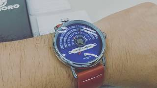 TOMORO Hemicycle Time Display Watch TOMORO 検索動画 38