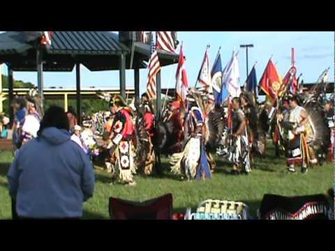 White Earth Powwow Grand Entry 6-11-2011 .mpg