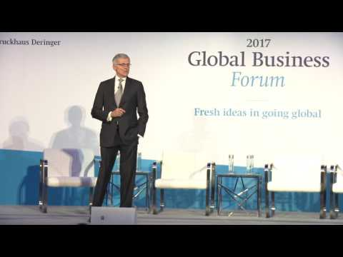 Global Business Forum 2017 - Keynote