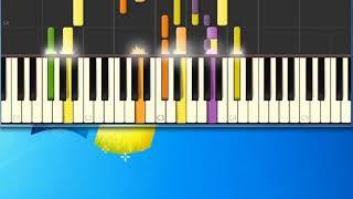Evergreen Barbara Streisand [Synthesia Piano] [Piano Tutorial Synthesia]