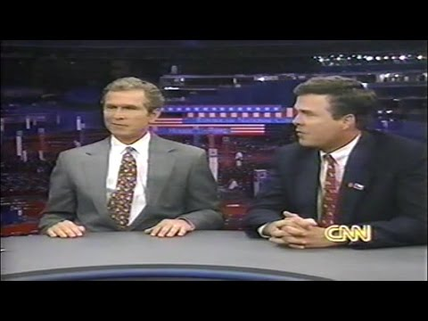 George W Bush, Jeb Bush, Larry King Live 1992