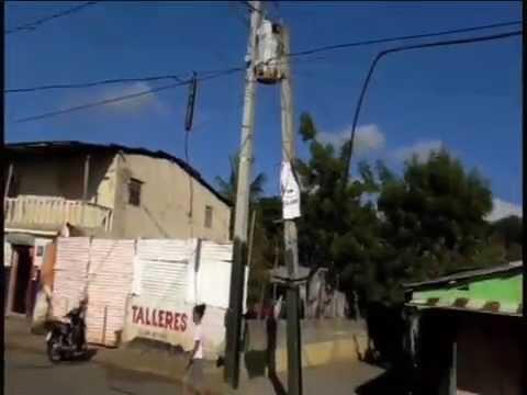 ROBAN CABLES TELEFONICOS EN BARRIO DE SANTIAGO