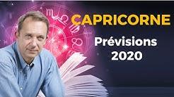 PRÉVISIONS 2020 - CAPRICORNE