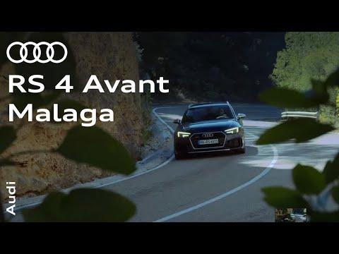 The new Audi RS 4 Avant – Malaga, Spain