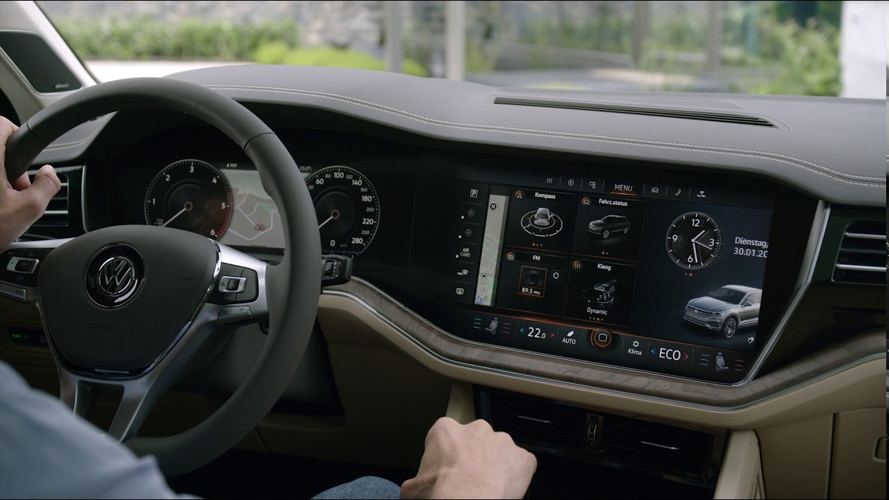 2019 VW Touareg - interior - YouTube