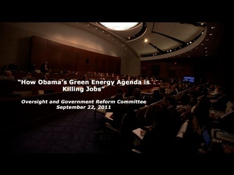 """How Obama's Green Energy Agenda is Killing Jobs"" Part 1"