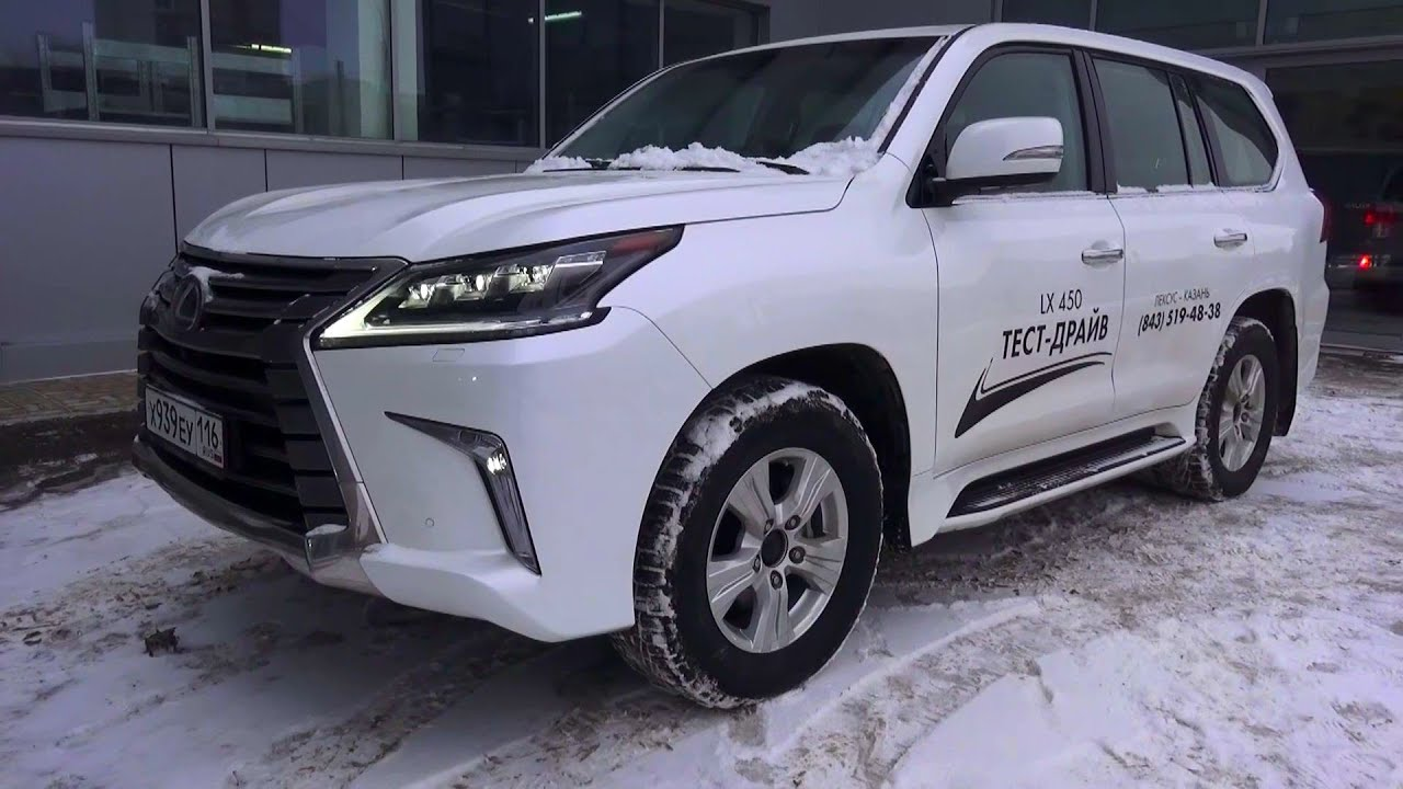 2016 Lexus LX 450d Executive 2 Start Up Engine and In Depth