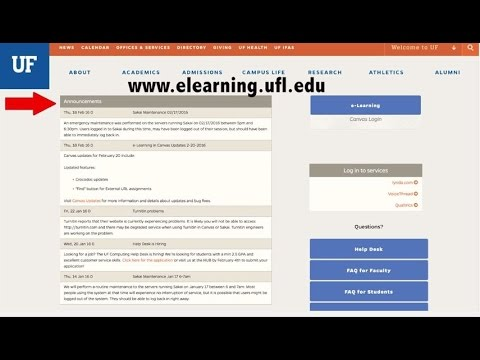 e learning uf login
