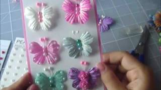 WOC's How to make Jeweled Butterflies- Super Easy Stunningly Gorgeous!