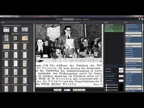 Document, newspaper, book scans optimization software by ALANIS Software