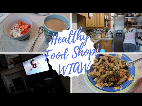 What I Ate Wednesday, A Big Healthy Food Shop! | cosycaitlin