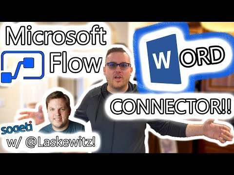 Microsoft Power Automate Tutorial - Microsoft Word Connector