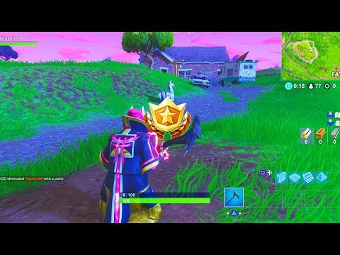 """Follow the treasure map found in Flush Factory"" Location Fortnite Week 3 Challenges!"