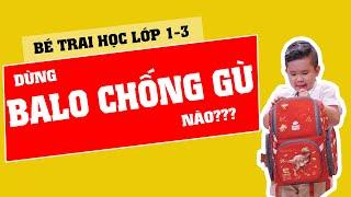 Balo chống gù Clever Hippo| CAPTOT.VN - Nhẹ và thời trang