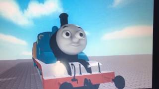 Amazing Thomas 3D face model in Roblox