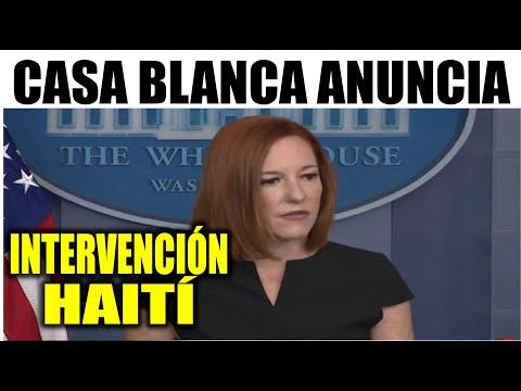 Ultimas noticias EEUU, CASA BLANCA ANUNCIA INTERVENCIÓN HAITÍ 11/07/2021