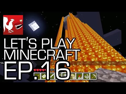 Let's Play Minecraft Episode 16 - Tower of Geoff Part 2