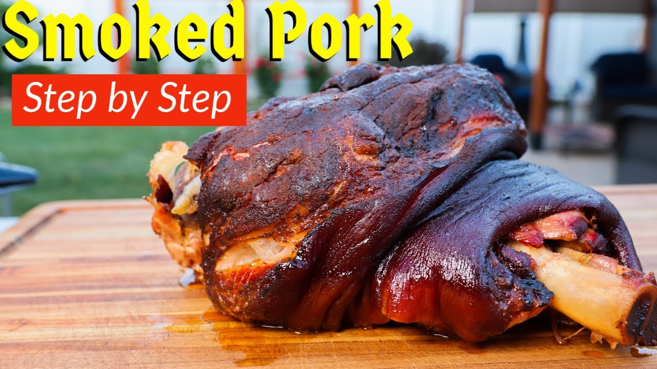 Smoked Pork Picnic | How to Smoke a Picnic Shoulder for Pulled Pork