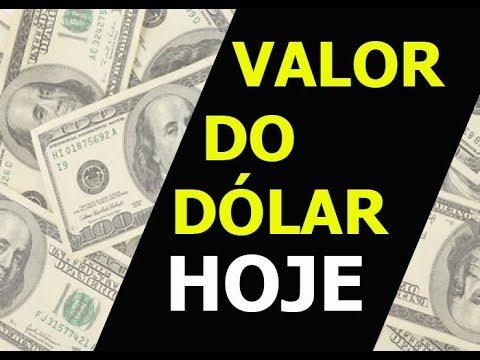 Valor Do DÓlar Hoje 2019 Atualizado Todos Os Dias