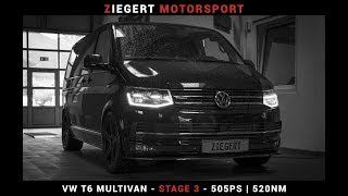 VW T6 Multivan #Projekt | Stage 3 - 505PS (520NM) | Ziegert Motorsport