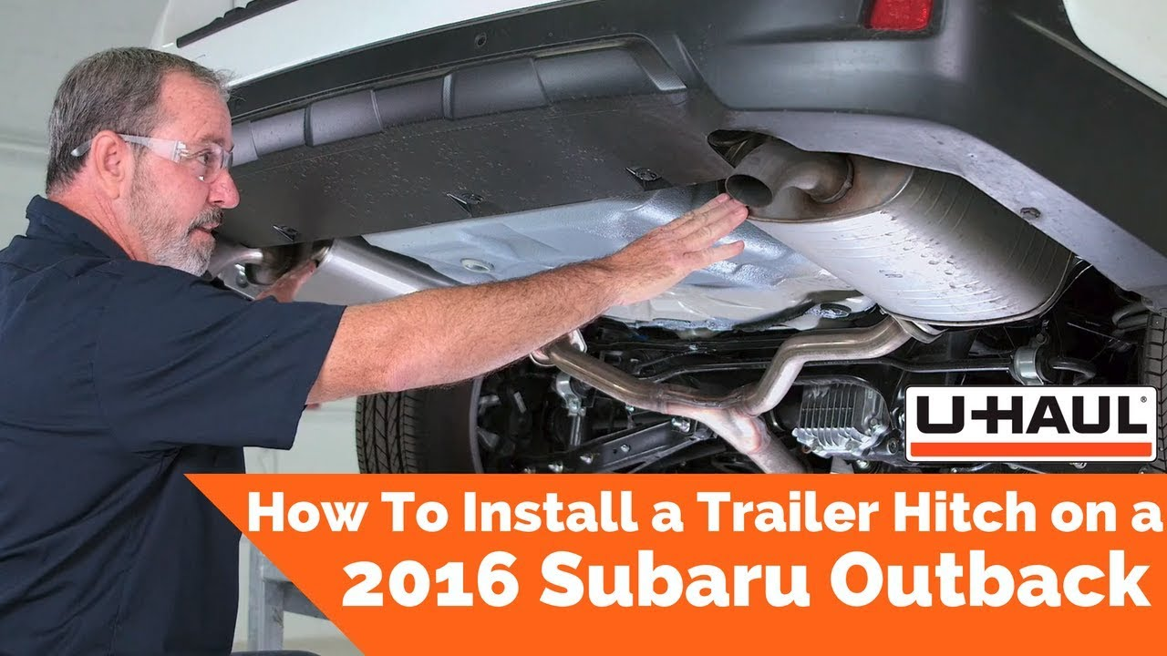 2016 Subaru Outback Trailer Hitch Installation