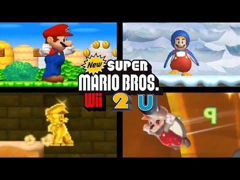 Evolution of New Super Mario Bros. Power-Ups