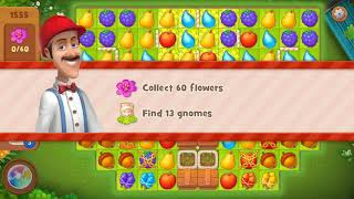 Gardenscapes level 1555
