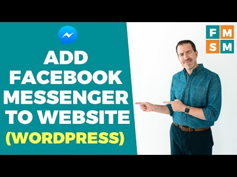 Add Facebook Messenger To Your Website (Wordpress)