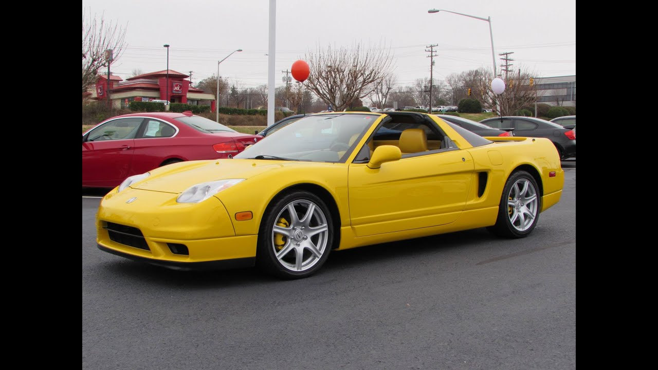 2002 acura nsx-t start up, exhaust, and in depth review - youtube