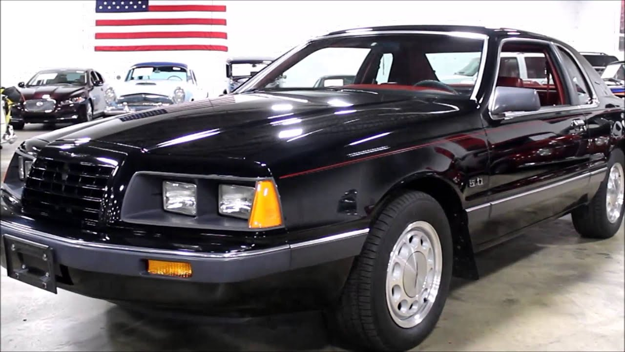 1986 ford thunderbird [ 1280 x 720 Pixel ]