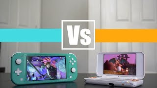 Nintendo Switch Lite Vs 3DS