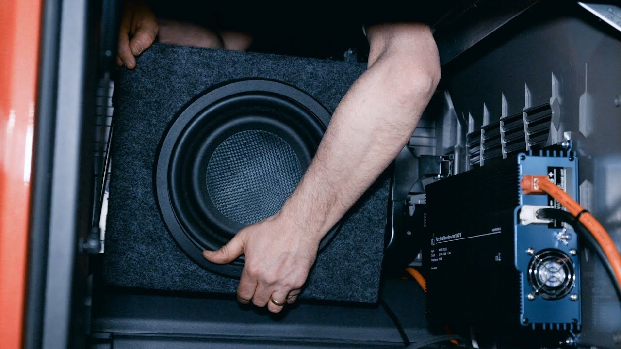 how to go about installing a new sound system