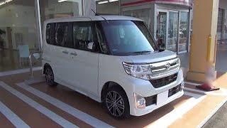 "2014 DAIHATSU TanTo Custom RS ""TopEdition SA"" 4WD - Exterior & Interior"