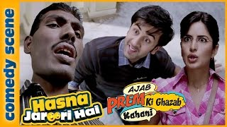 Ranbir Kapoor Best Comedy Scene - Hasna Zaroori Hai - Ajab Prem Ki Ghazab Kahani - Indian Comedy